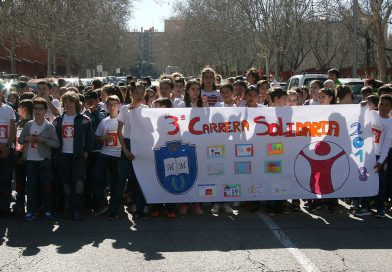 Éxito de la III Carrera Solidaria <em>Save the Children</em> en el CEIP María Moliner