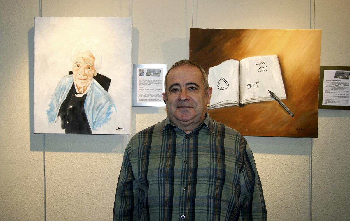 El Centro Cultural Antonio Machado albergó la exposición de Javier Falque
