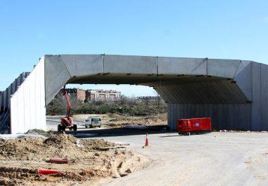 El puente elevado del Metropolitano se inaugurará en junio