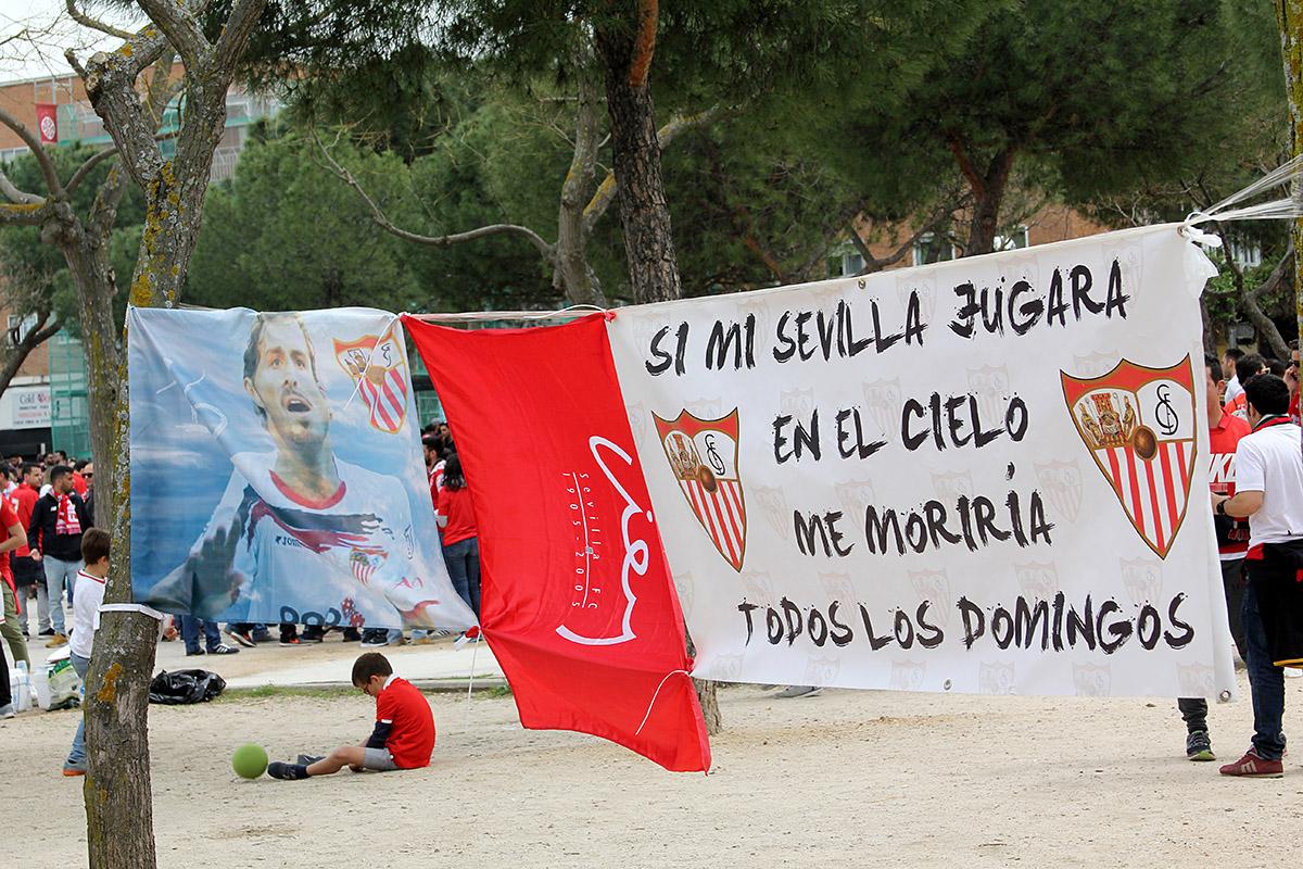 El Barça ganó la Copa y el Sevilla puso la alegría en Canillejas