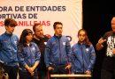Se presenta la Coordinadora de Entidades Deportivas del distrito