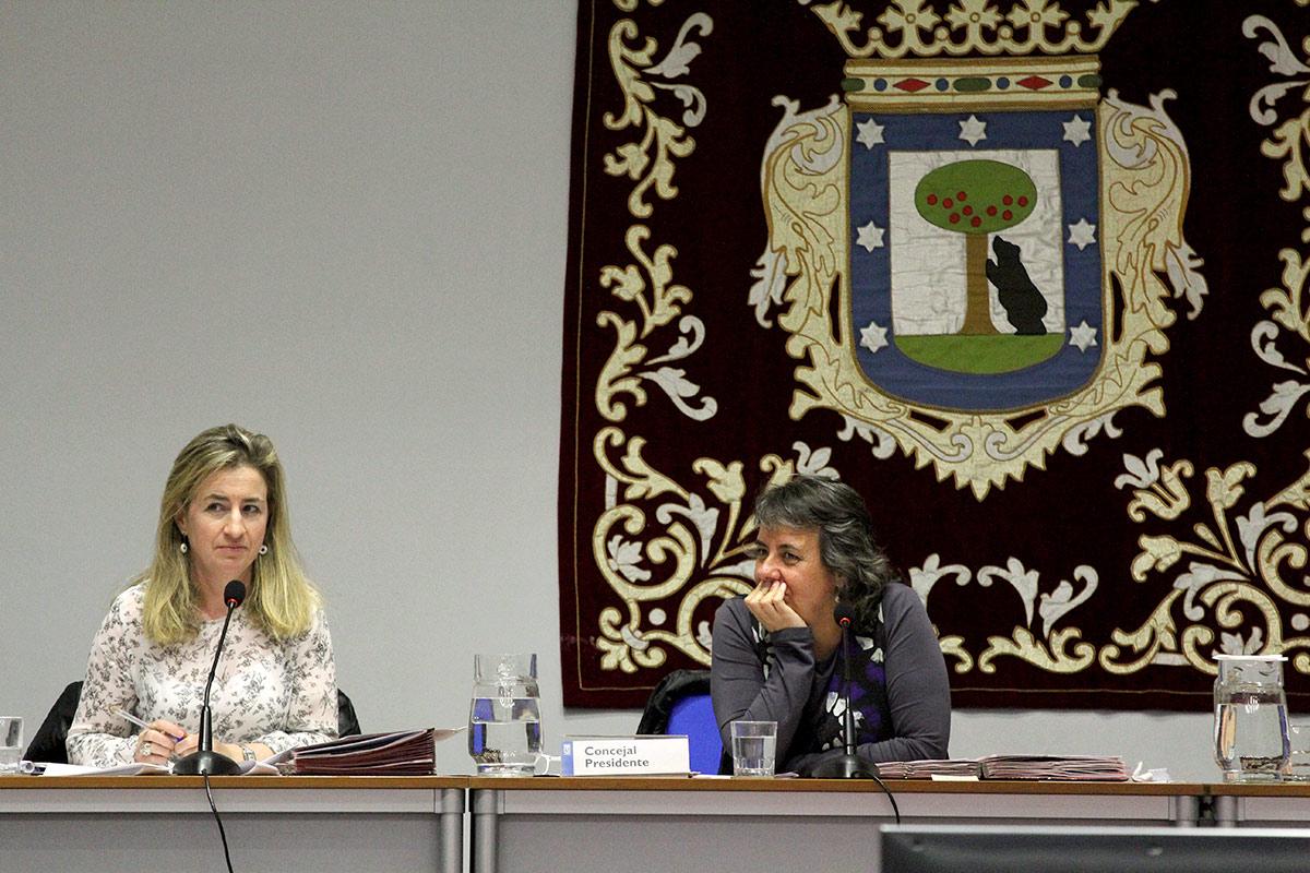 Marta Gómez en el pleno