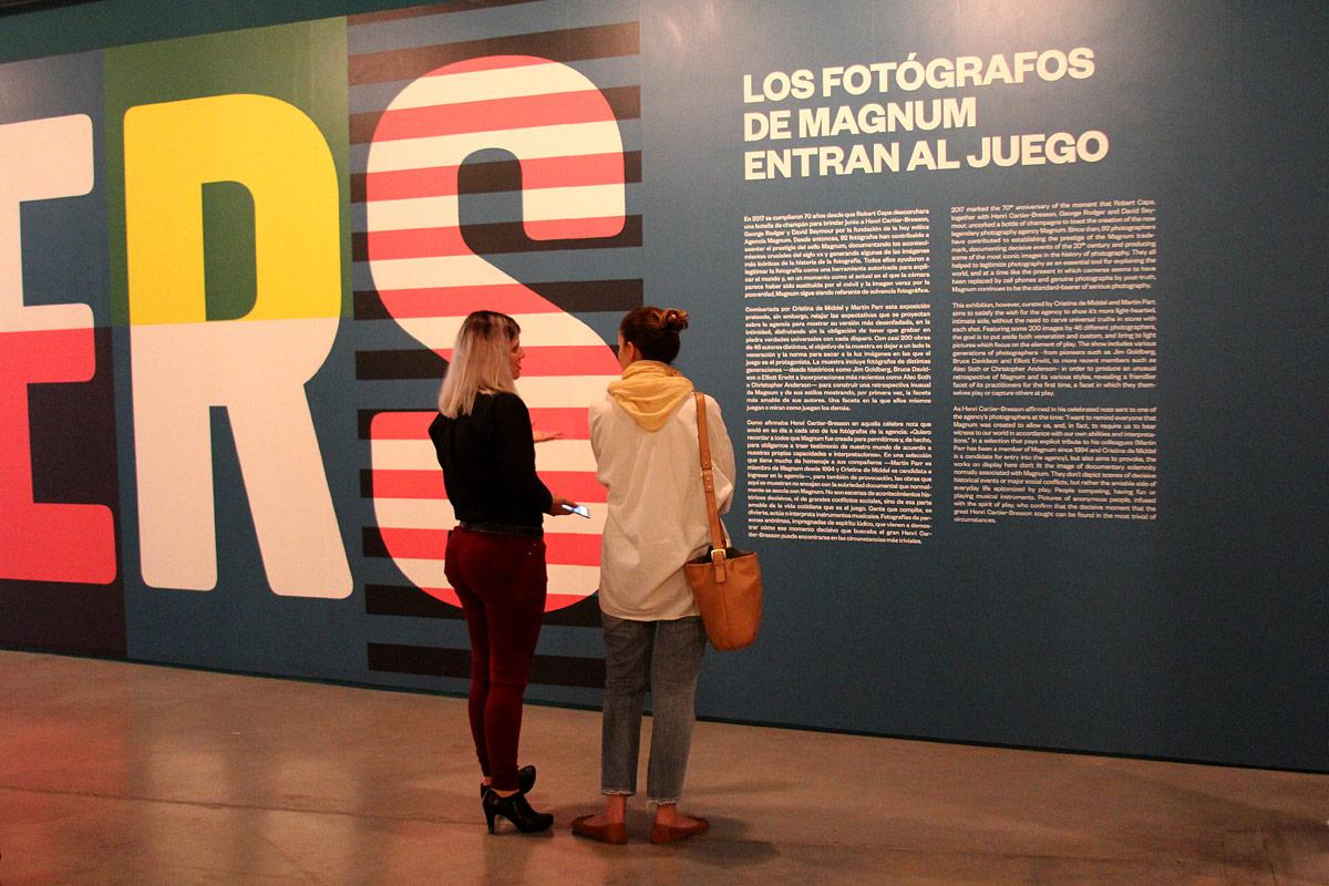 Los fotógrafos de Magnum entran en juego en Fundación Telefónica
