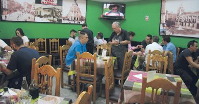Casa Manuela, cocina de casa en Las Rosas