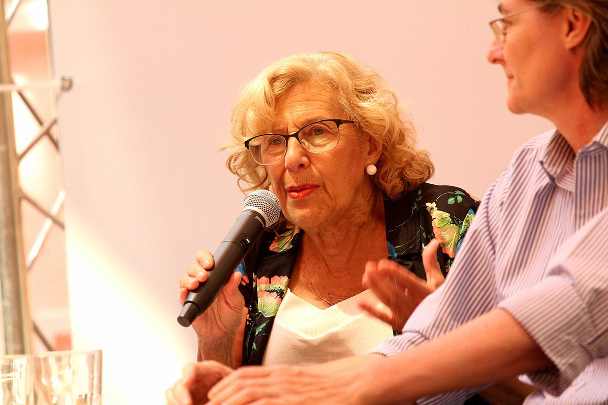Manuela Carmena, Espacio Abierto en la Quinta de Los Molinos