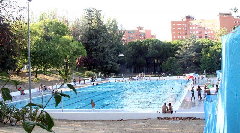 La piscina olímpica municipal del polideportivo de San Blas