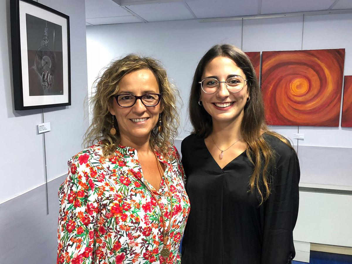 Manuela Galvan y Beatriz Garcia