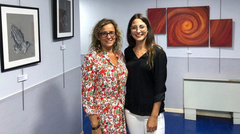 """Manuela Galván, pintora: """"Nunca acabo una obra, es mi seña de identidad"""""""