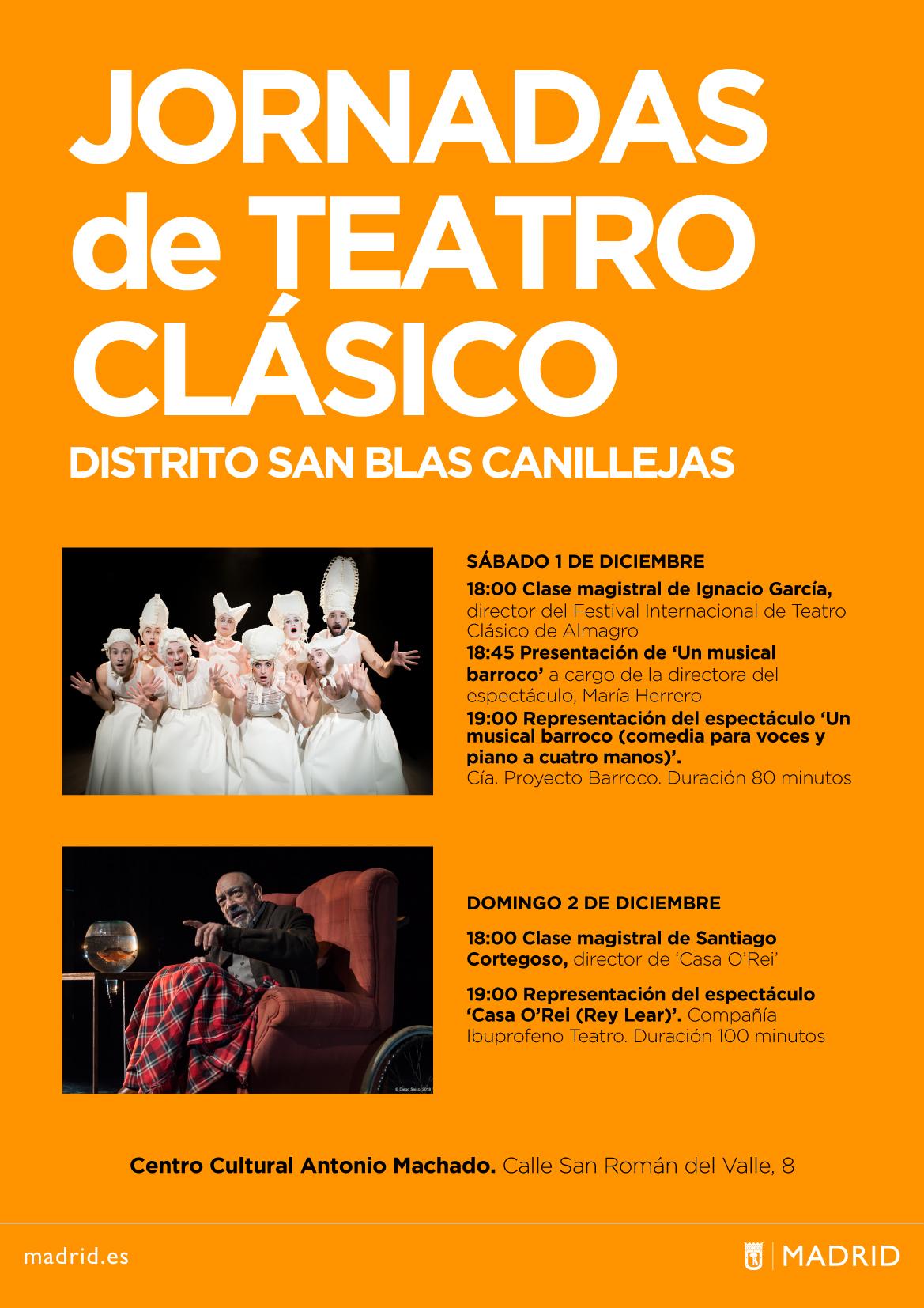 Jornadas de Teatro Clásico San Blas