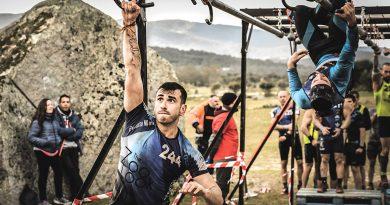 Víctor Martín, un atleta de OCR en San Blas-Canillejas