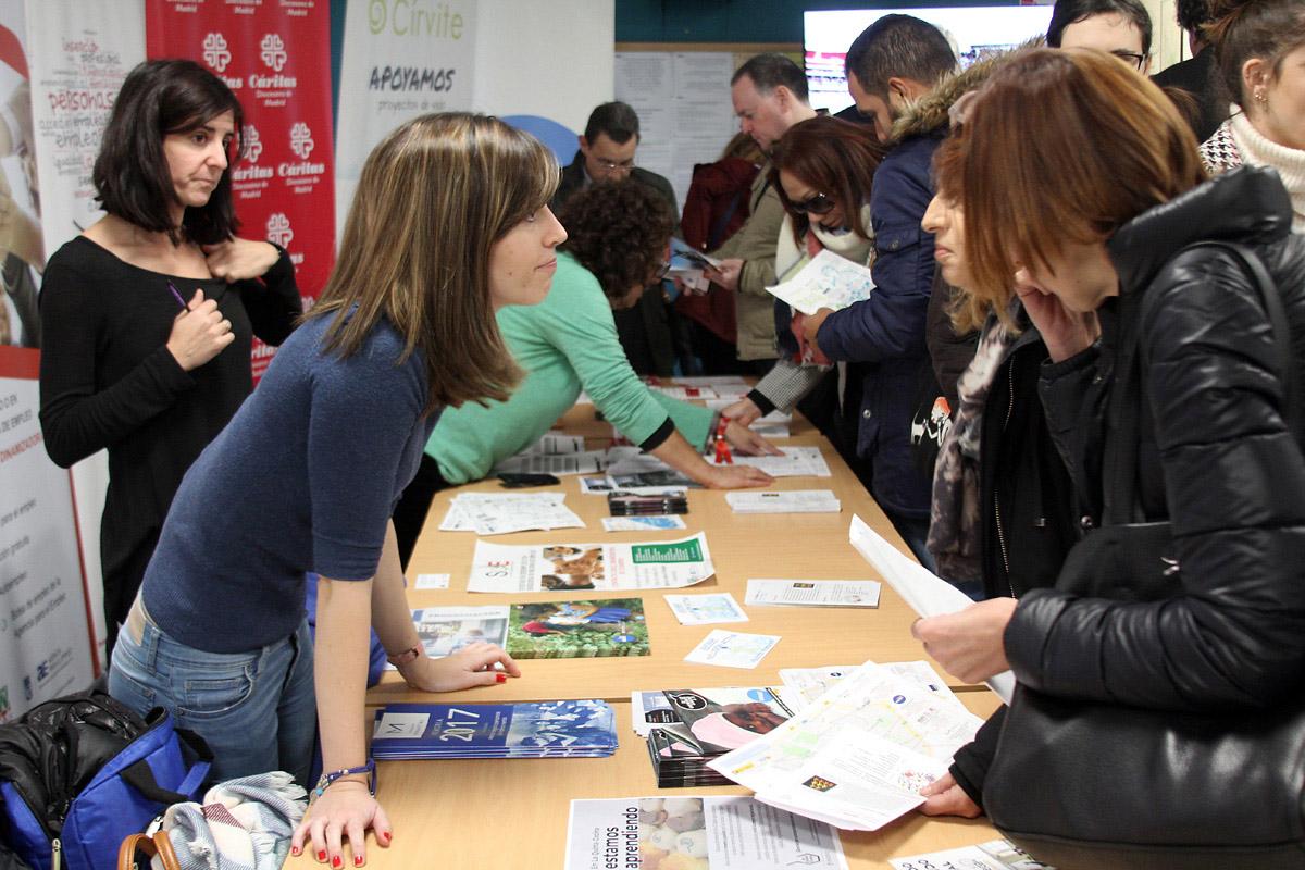 La I Feria de Empleo desbordó todas las previsiones de asistencia