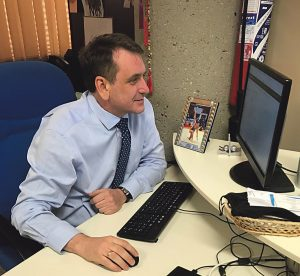 Juan Carlos Romo de Arce Díaz es el presidente del Club de Gimnasia Euritmia