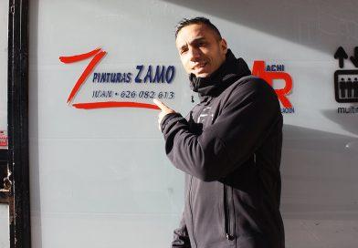 La doble vida de Iván del Barrio, jugador y pintor a tiempocompleto