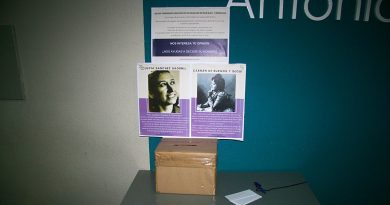 Un proceso participativo elegirá el nombre del Espacio de Igualdad de San Blas-Canillejas entre las dos opciones que están encima de la mesa, Carmen de Burgos y Lucía Sánchez Saornil