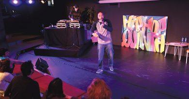 Presentación Hip Hop Quinta en Espacio Abierto