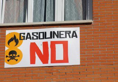 Paralizada la gasolinera de Las Rosas