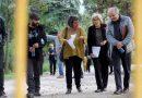 Tercera visita de Manuela Carmena a Torre Arias