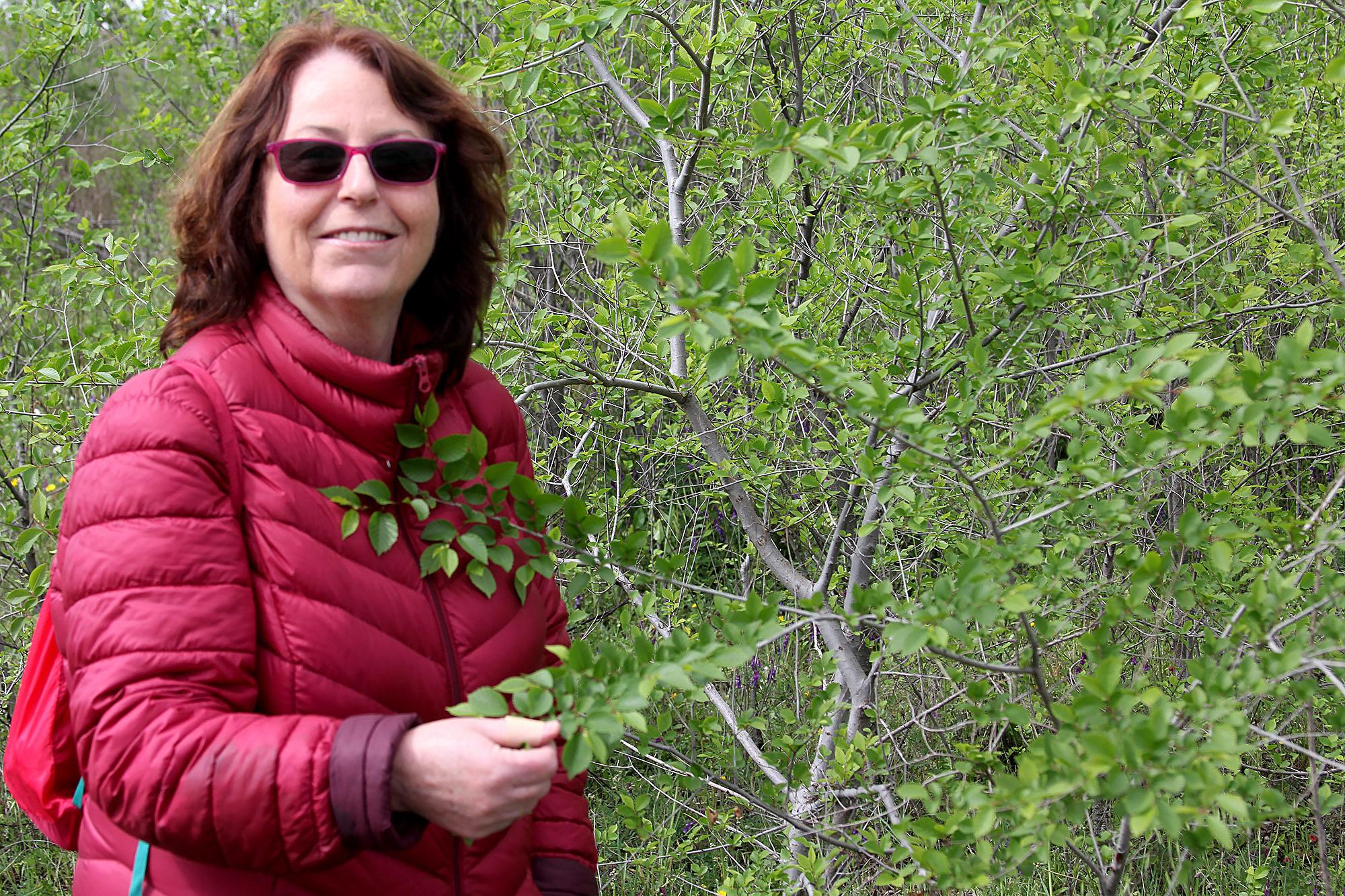 Chantal Dujardin es una de las integrantes de la Mesa de Medio Ambiente de San Blas-Canillejas