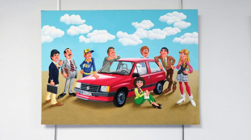 Pegaso acoge la exposición de las pinturas de Pepe Garzón