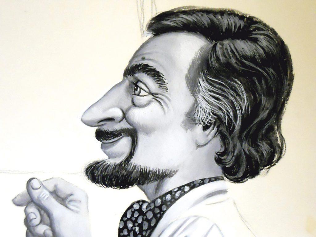 Pepe Garzón autoretrato