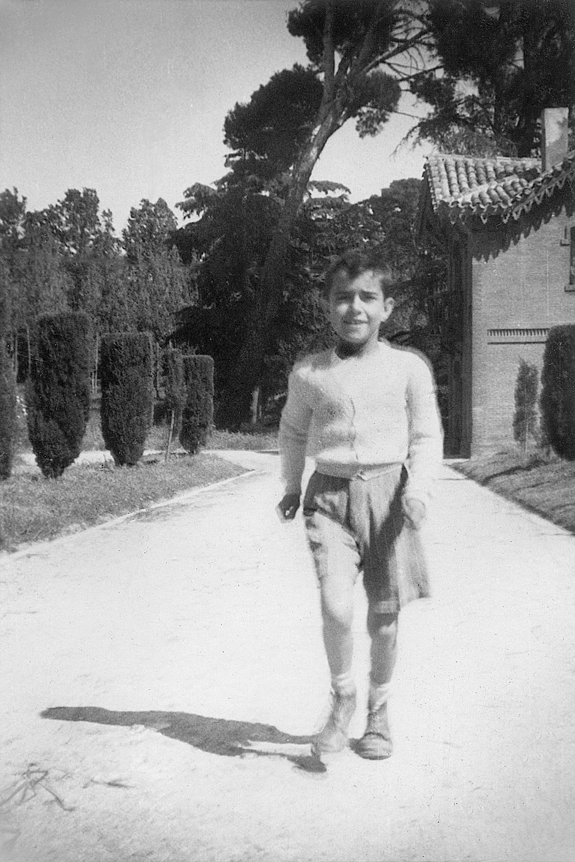 Pablo Hervás, el hijo de los guardases de Torre Arias
