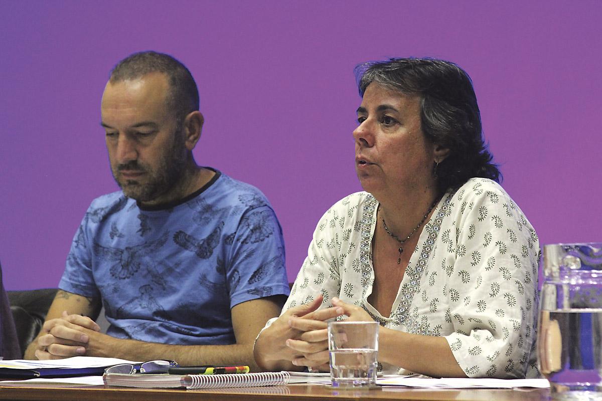 Alberto Arkones y Marta Gómez