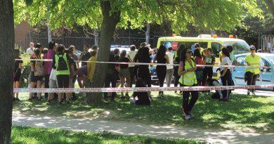 II Carrera Solidaria en el parque Paraíso de San Blas