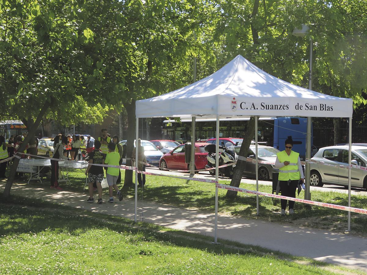 La RID celebra la II Carrera Solidaria en el parque Paraíso de San Blas