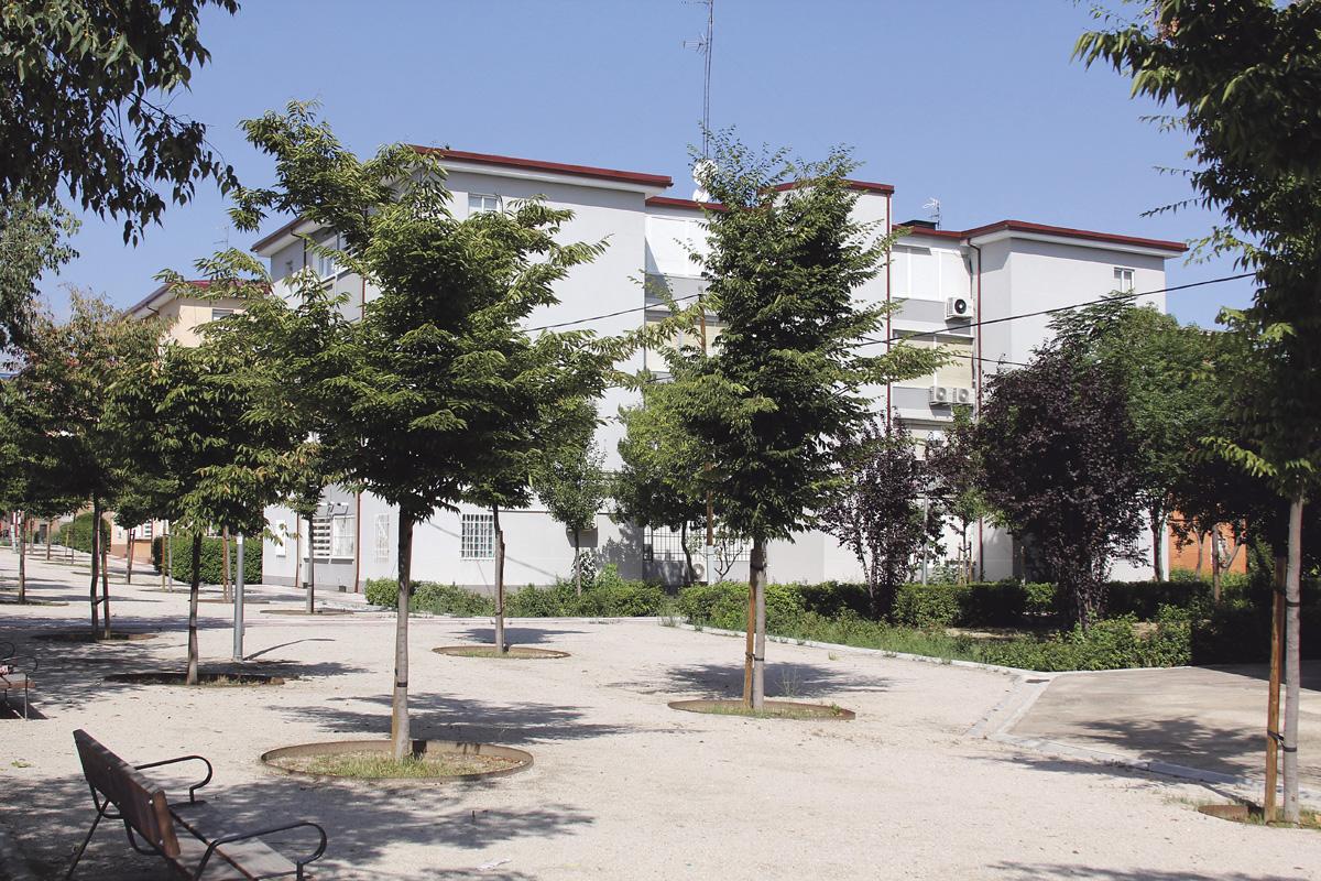 Comienzan las obras para mejorar zonas verdes de Ciudad Pegaso