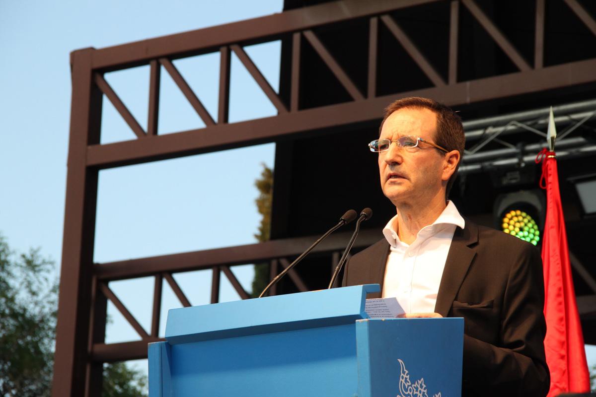 el concejal-presidente del distrito, Martín Casariego—Fiestas Canillejas