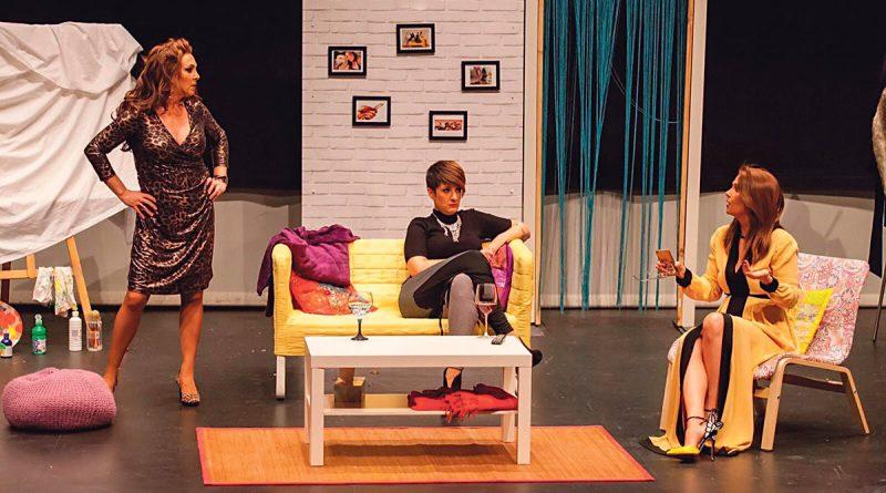 Chicas de juernes de la compañía Babylon Teatro que se representará en el CC Miguel de Cervantes