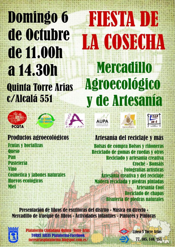 Fiesta de la cosecha Torre Arias