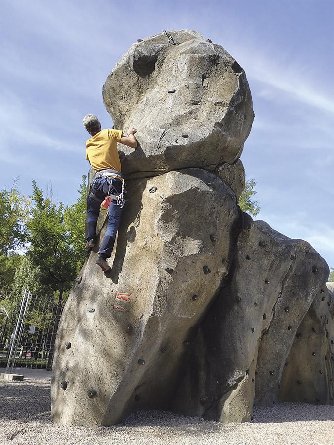 Rocódromo el Parque El Paraíso