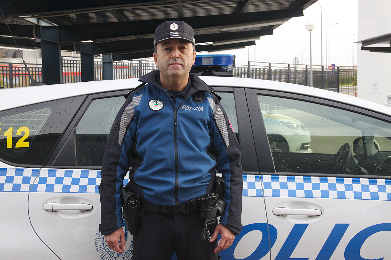 Antonio González Oficial Policía Municipal San Blas