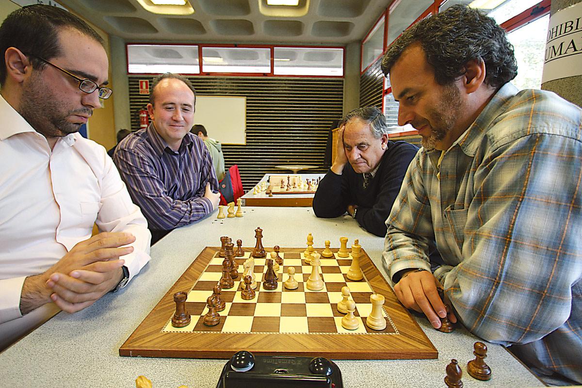 El club de ajedrez La Blanca de Canillejas