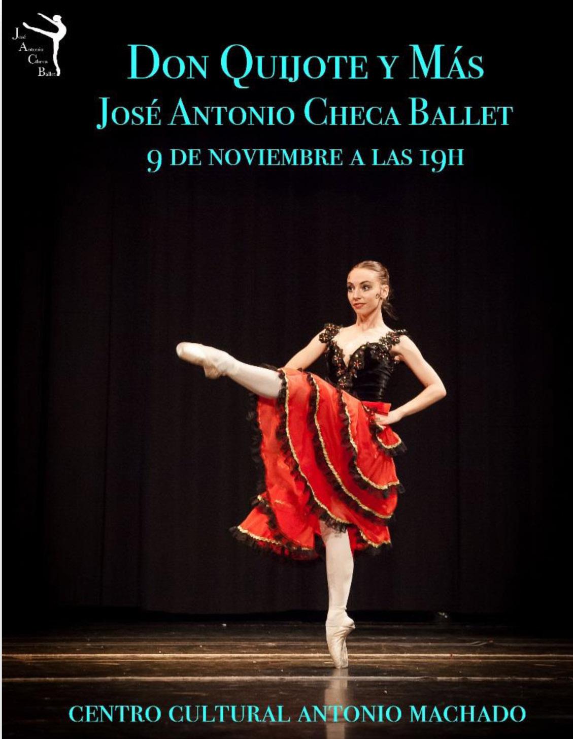 La Compañía de José Antonio Checa que presentará su ballet Don Quijote y Más