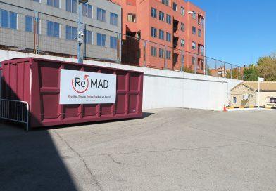 Reciclaje e intercambio de objetos en el Punto Limpio del distrito