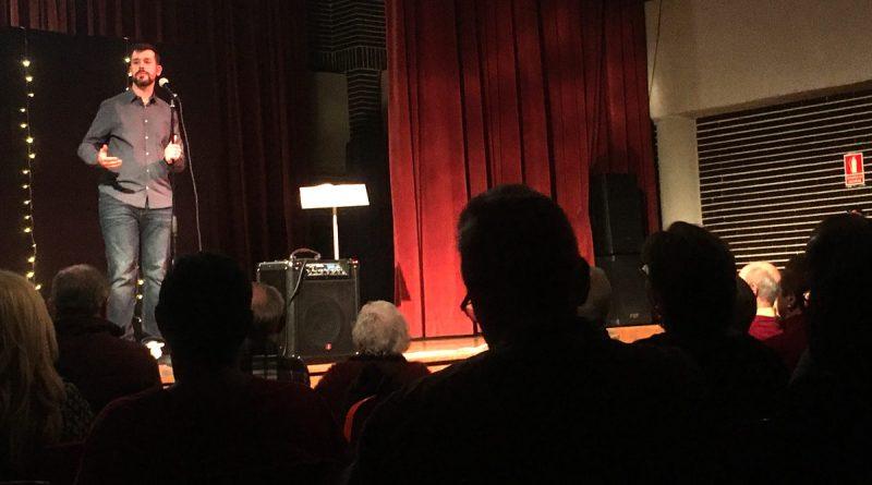 El monologuista Andrés Madruga el Centro Cultural Miguel de Cervantes