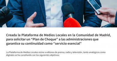 Comunicado Plataforma Medios Locales