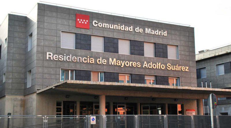 Fachada de la Residencia de Mayores Adolfo Suárez