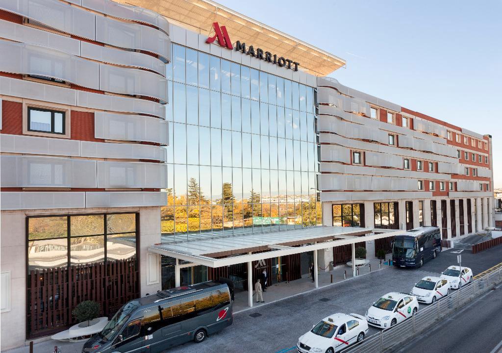 El Madrid Marriott Auditorium fue el segundo hotel medicalizado en Madrid con motivo de la pandemia
