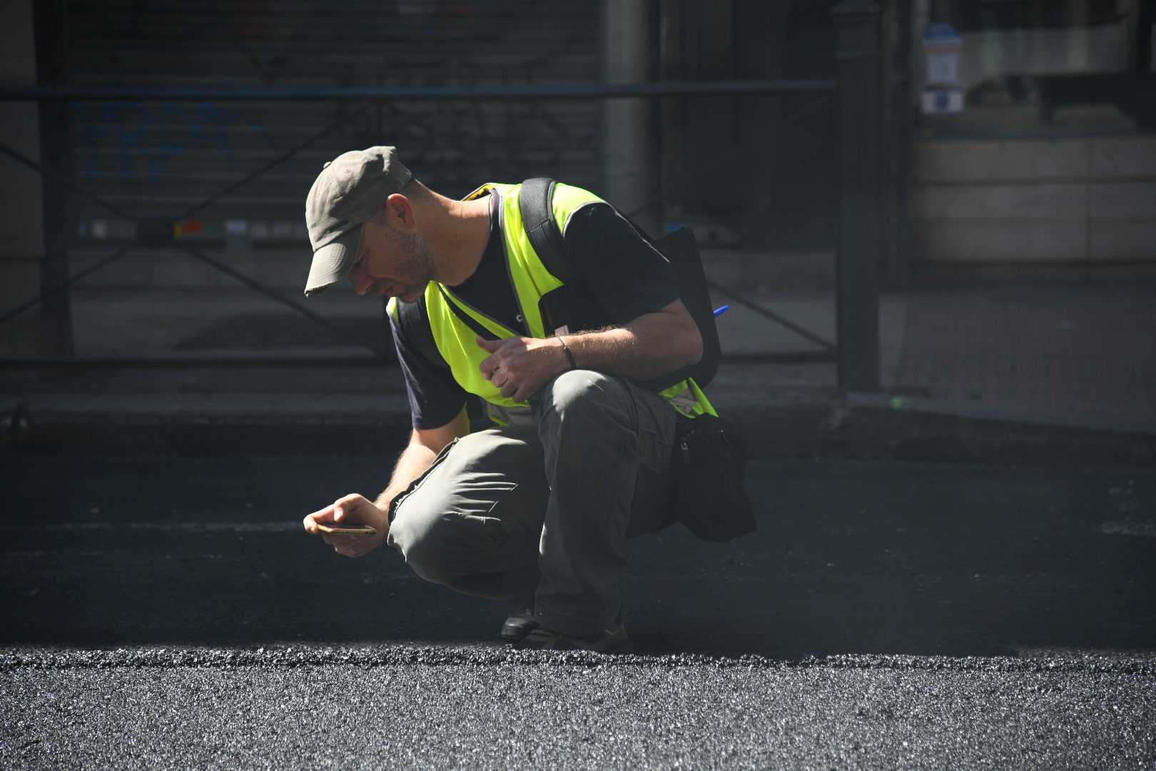 En la renovación de las 659 calles de Madrid se utilizarán alrededor de 366.000 toneladas de asfalto