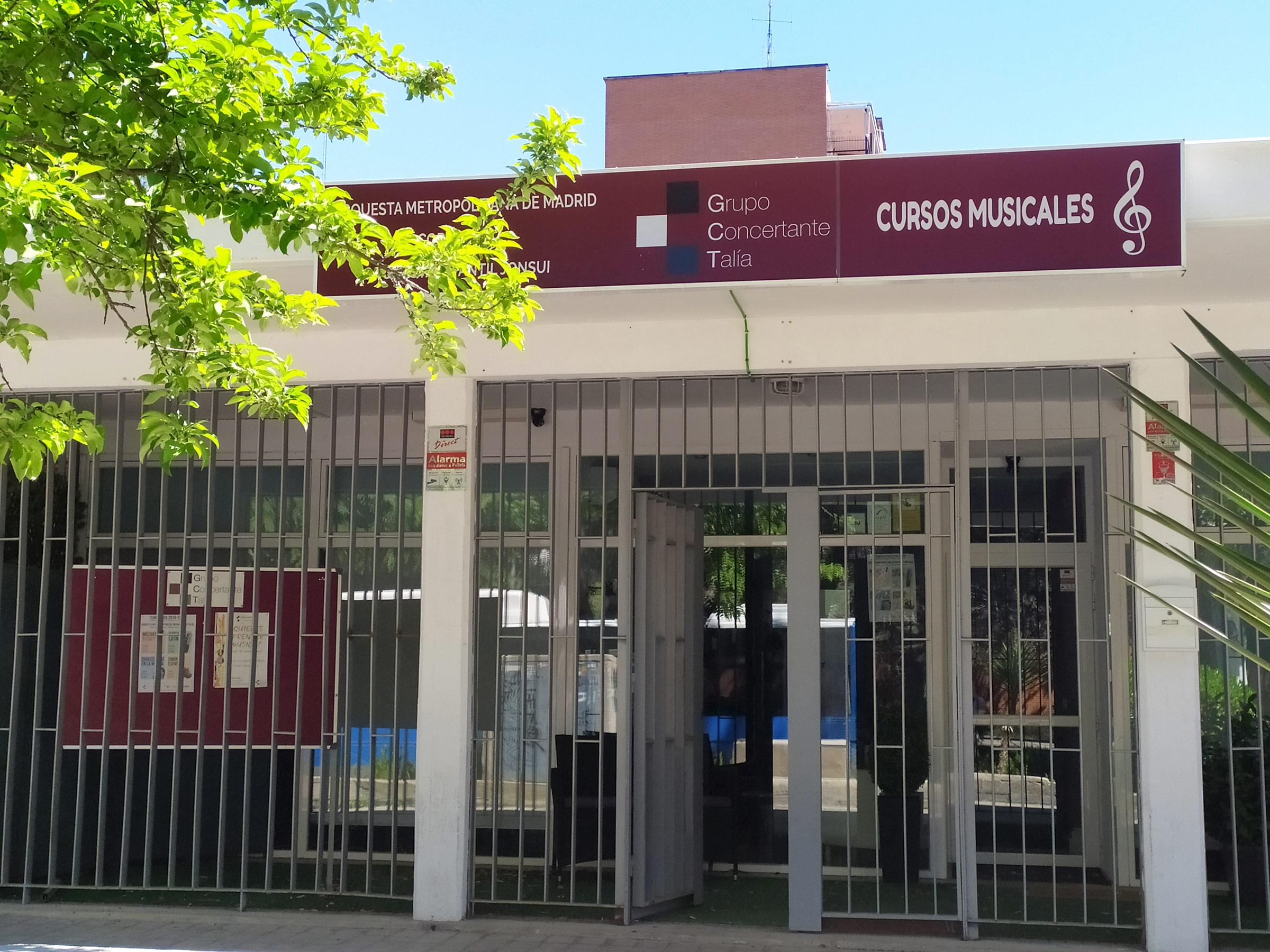 La sede del Grupo Concertante Talía en el barrio Salvador