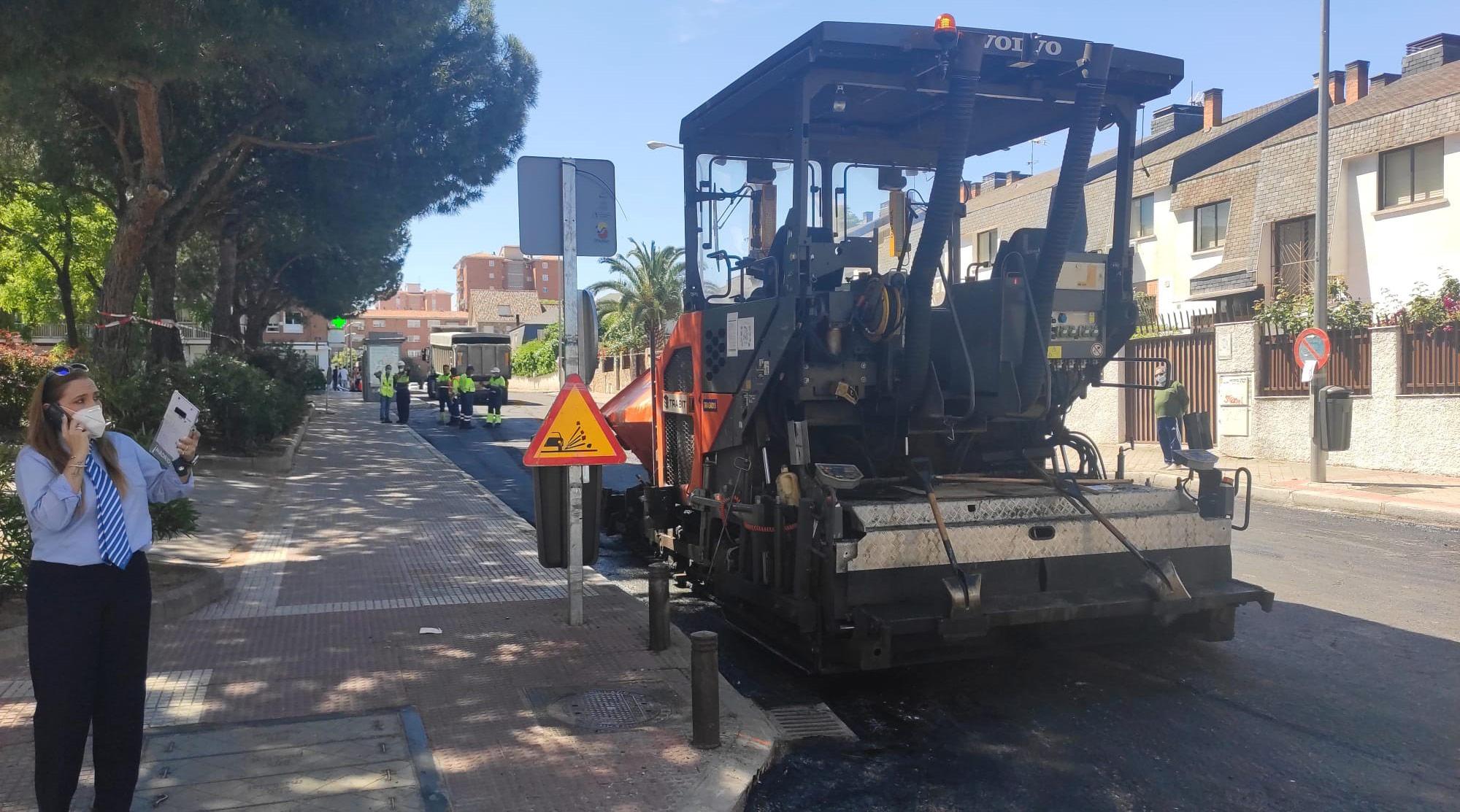 Más de 40 vías se re-asfaltarán entre abril y septiembre en el distrito dentro de la Operación Asfalto 2020