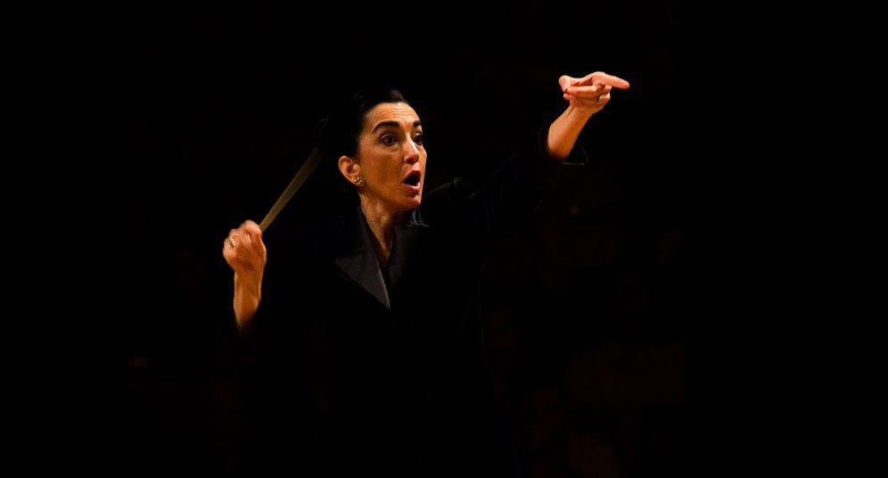 Silvia pone toda la pasión en cada uno de sus conciertos