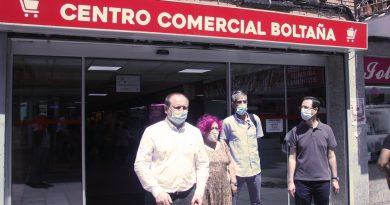 La calle Boltaña recibe a Miguel Ángel Redondo y MartínCasariego