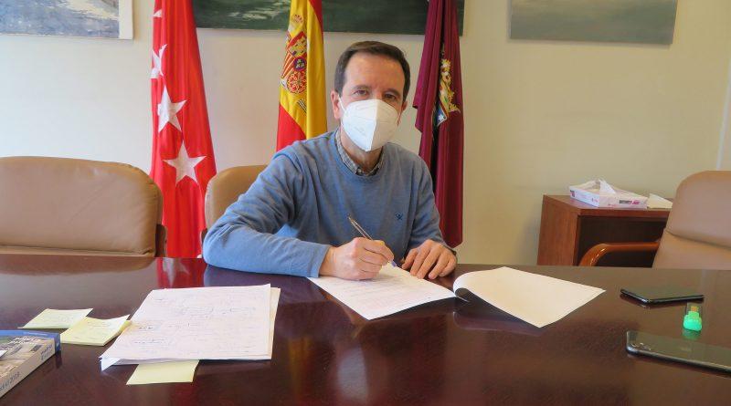 Martin Casariego concejal presidente San Blas Canillejas