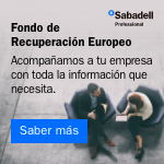 Sabadell - Fondo de Recuperación Europeo