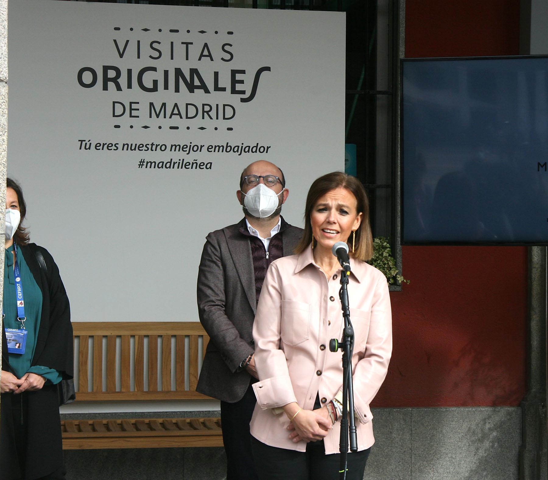 Almudena Maíllo concejala delegada de turismo del Ayuntamiento de Madrid