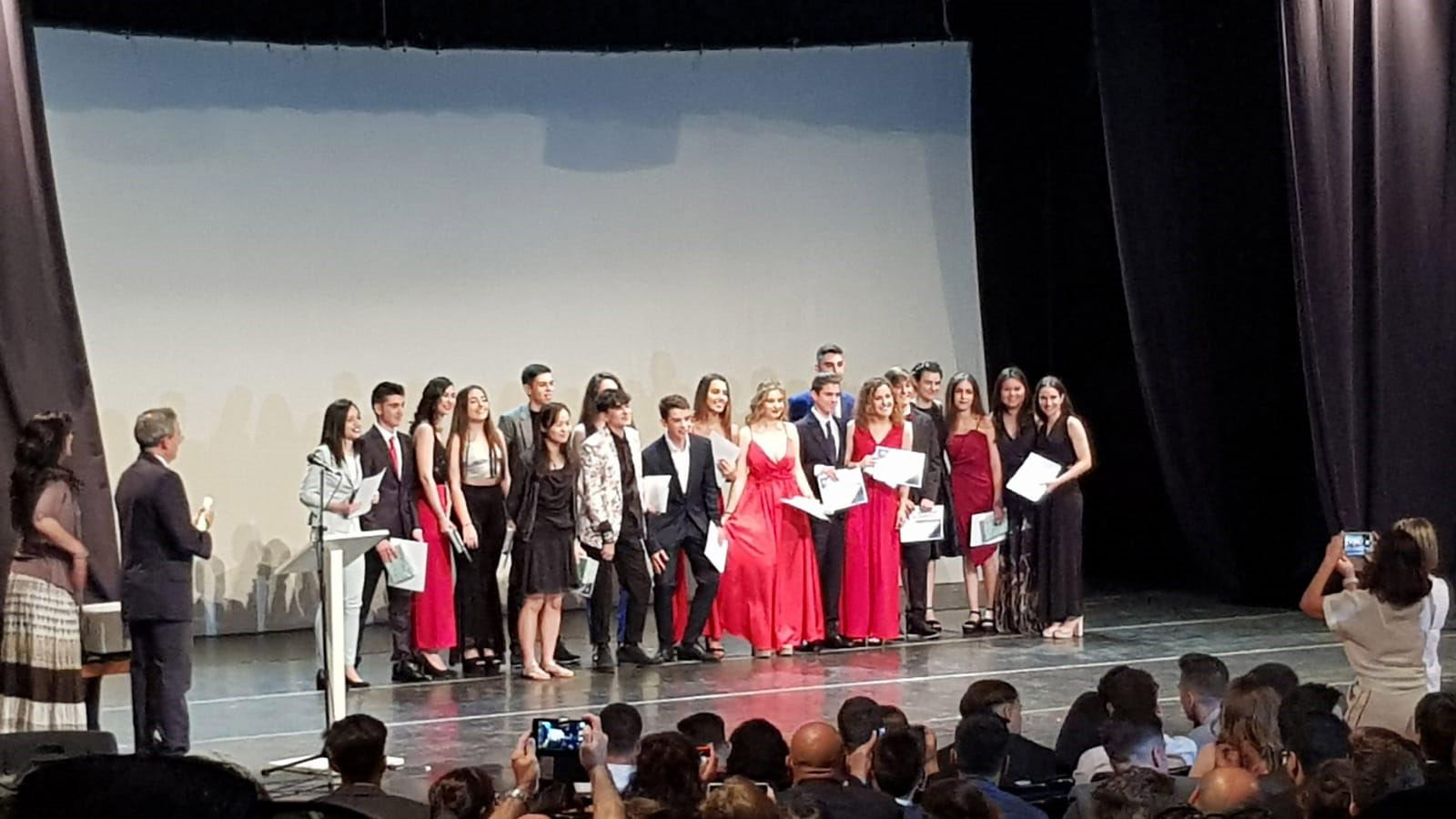 IES Gomez Moreno diplomas
